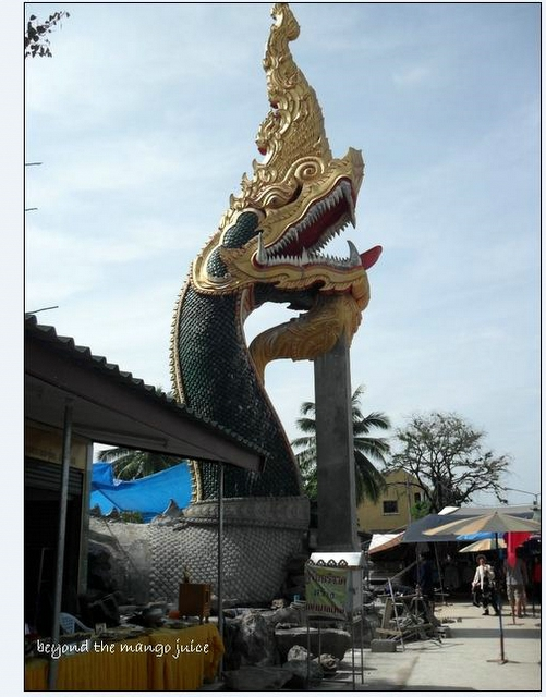 Naga statue,Phon Phisai