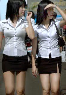 pretty thai women