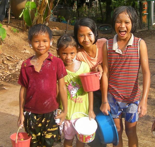 Songkran Village Style