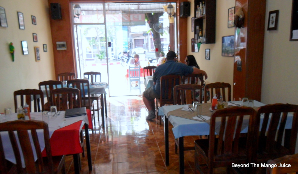 SAM 2824 Best Restaurants in Udon Thani Pappagallo Pizza Italian Restaurant