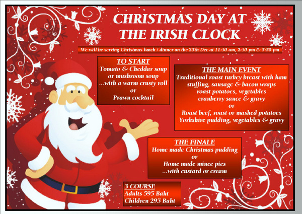 irish-clock-udon-thani-xmas-menu
