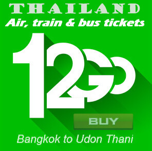 udon thani travel tickets