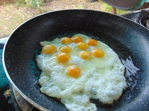 fried quail eggs thailand